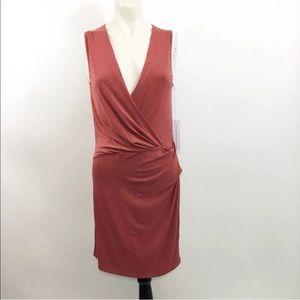 Young Fabulous Broke Faux Wrap Dress SZ S NWT
